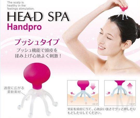 Массажер для головы HEAD SPA Handpro
