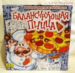 """Настольная игра """"Балансирующая пицца"""""""