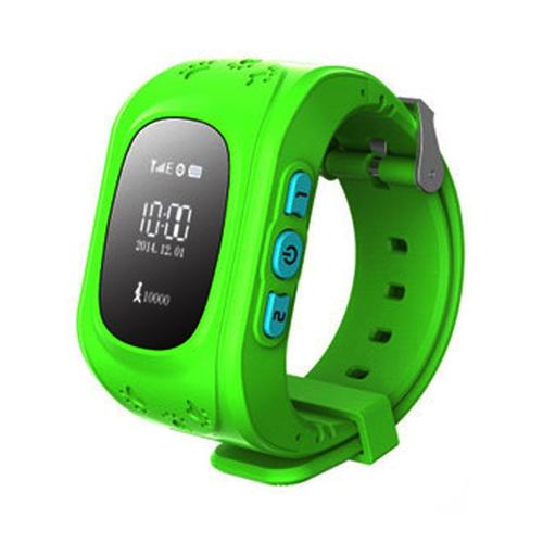 Умные детские часы с GPS Smart Baby Watch Q50(зеленый)