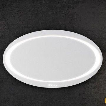 Зеркало с подсветкой Aqwella Папирус 96х56 ФОТО