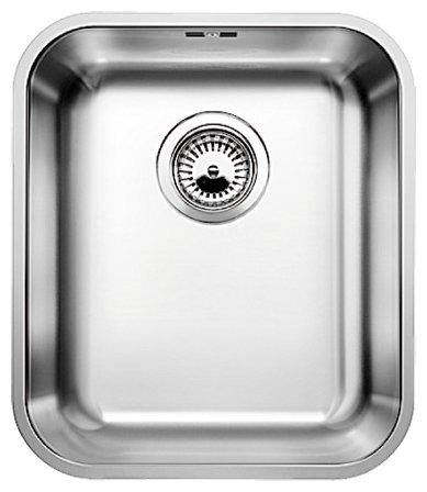 Кухонная мойка Blanco Supra 340-U с корзинчатым вентилем (518199)