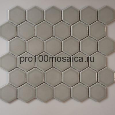 Gray Gamma. Мозаика СОТЫ 51*59 мм,  размер, мм: 325*281*5 (ORRO Mosaic)