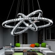 Светодиодная подвесная люстра 3 кольца