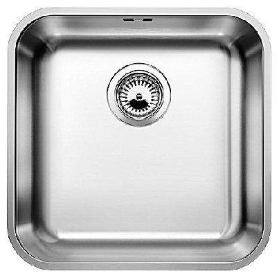 Кухонная мойка Blanco Supra 400-U с корзинчатым вентилем (518201)
