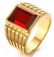 Перстень с горным хрусталем