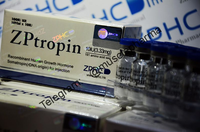 "ГОРМОН РОСТА ""ZPtropin"" 10 Vial x 10 IU (3.33mg) 191 amino acid seq"