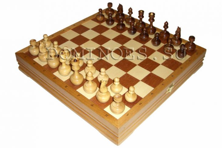 "Игровой набор - шахматы ""Неваляшки"" + шашки"