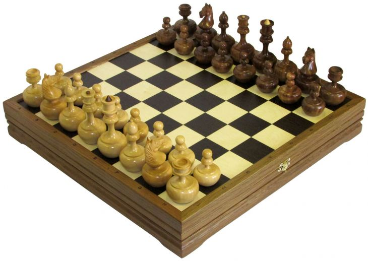 "Шахматы стандартные деревянные ""Неваляшки"""
