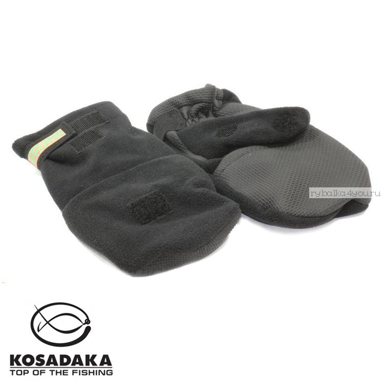 Купить Перчатки-варежки Kosadaka Fire Wind / цвет: черный