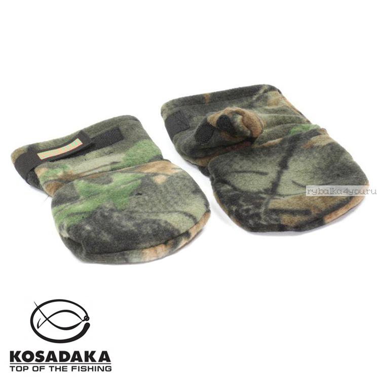 Купить Перчатки-варежки Kosadaka Fire Wind / цвет: камуфляж
