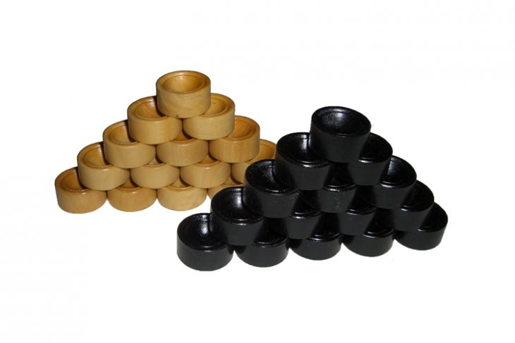 Комплект фишек для игры в нарды