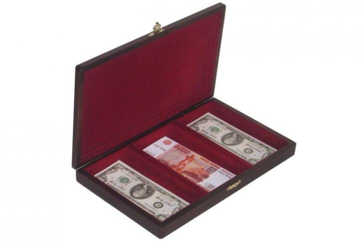 Шкатулка для трёх валют