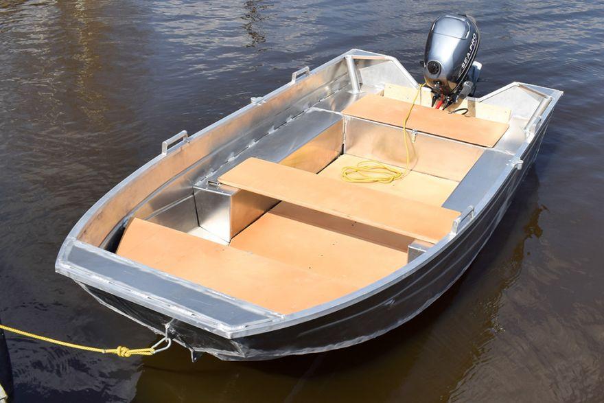 Лодка алюминиевая ВИЗА Алюмакс-300