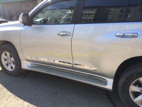 Молдинги на двери (Тип 7) для Toyota Land Cruiser Prado 150  -