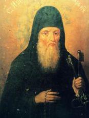 Лонгин Печерский (рукописная икона)