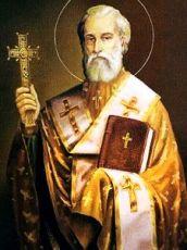 Лука Новгородский (Жидята) (рукописная икона)
