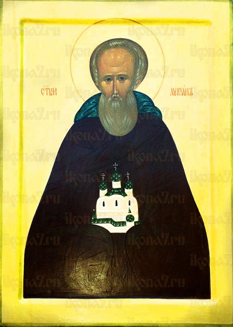 Лукиан Александровский (рукописная икона)