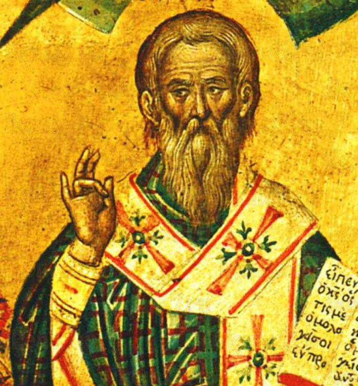 Мануил Адрианопольский (рукописная икона)