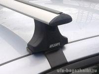 Багажник на крышу на Mitsubishi Lancer 10, sedan/hatchback, Атлант, крыловидные дуги
