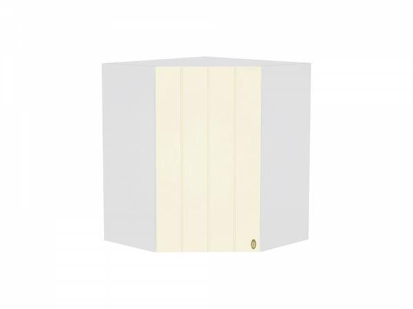 Шкаф верхний угловой Прованс ВУ590 (ваниль)
