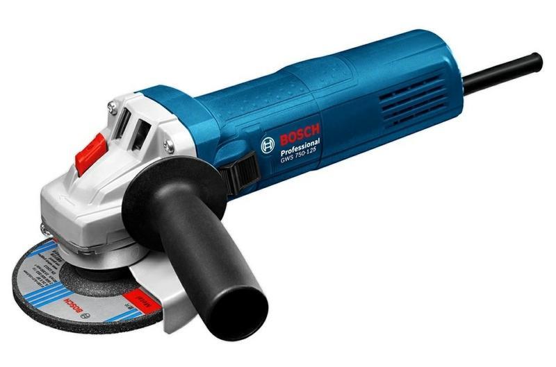 Угловая шлифмашина Bosch GWS 750-125 (06013940R3)