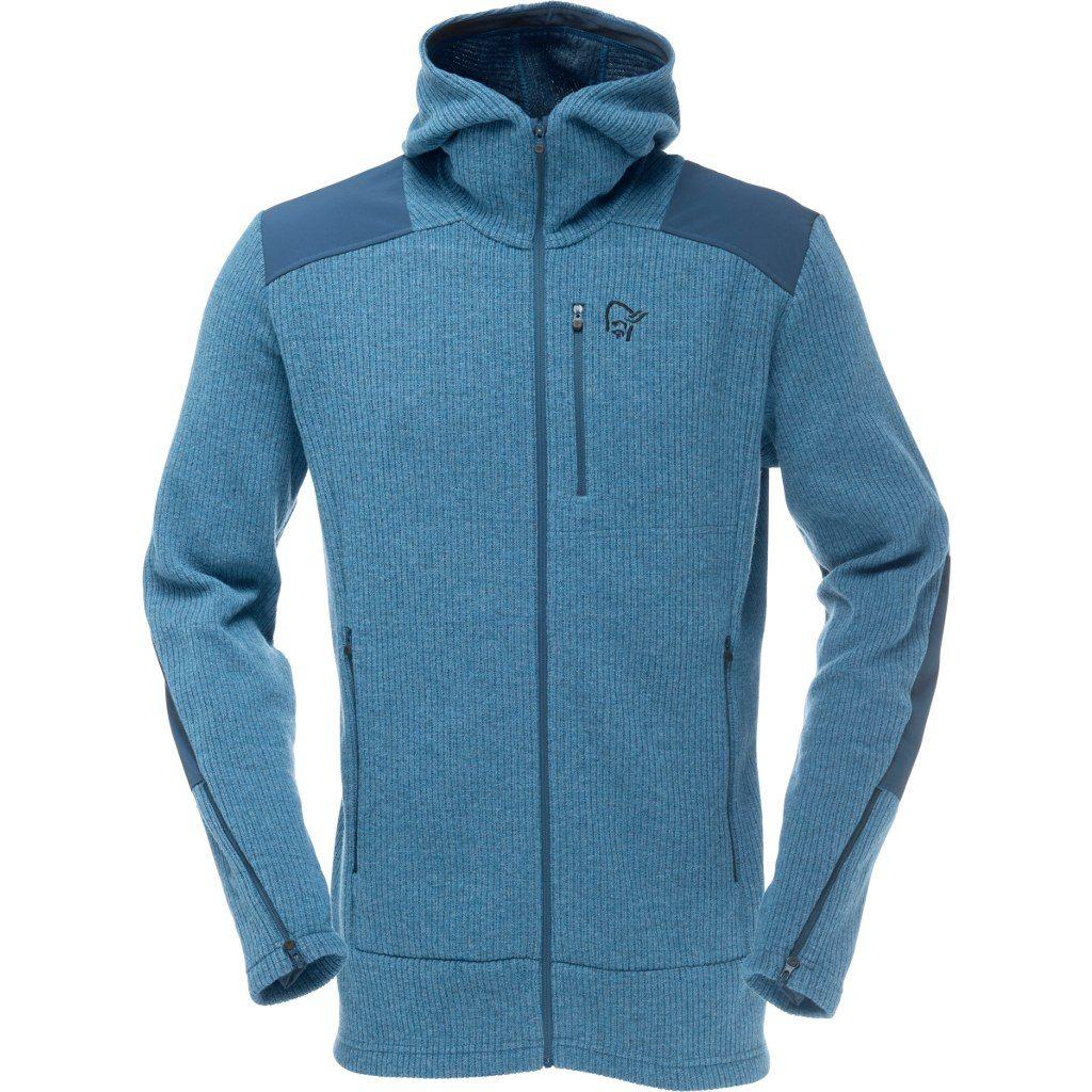 Norrona Tamok warm/wool2 Zip Hood Beyond Blue
