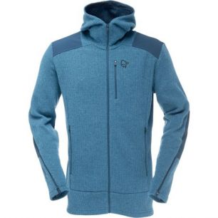 Norrona Tamok warm/wool2 Zip Hood Beyond Blue