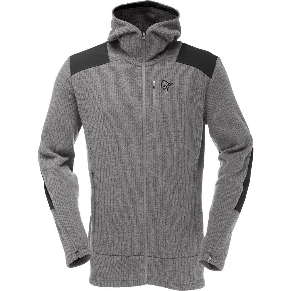 Norrona Tamok warm/wool2 Zip Hood Mercury