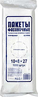 Фасовочные пакеты (ПНД) 1000 шт. 18*27 см