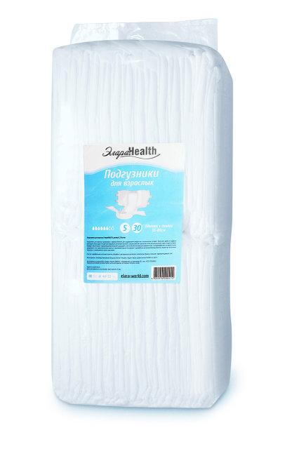 Подгузники для взрослых Элара Health, S - 30 шт. (55-80 см)