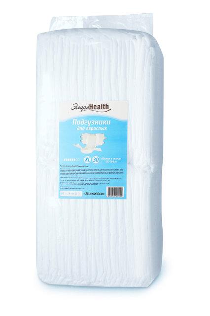 Подгузники для взрослых Элара Health, XL - 30 шт. (130-164 см)