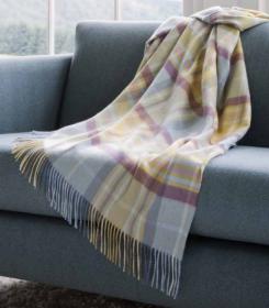 Роскошный шотландский  плед из 100 % драгоценного кашемира, расцветка замка Килдрамми  KILDRUMMY  Cashmere