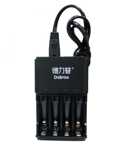 Аккумуляторное ЗУ для аккум. DELIPOW DLP-406 (4*AA/AAA)