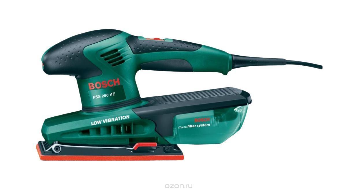 Вибрационная шлифмашина Bosch PSS 250 AE (0603340220)