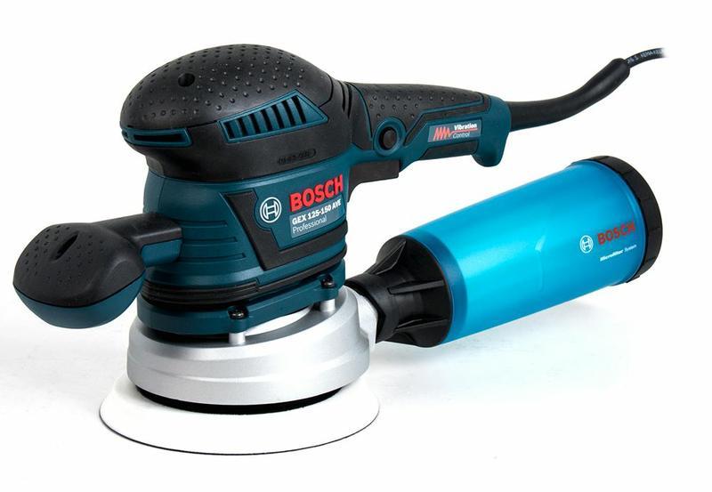 Эксцентриковая шлифмашина Bosch GEX 125-150 AVE (060137B102)