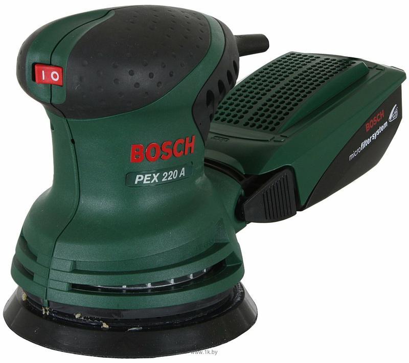 Эксцентриковая шлифмашина Bosch PEX 220A (0603378020)