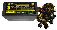 Блок питания HU MENG 90PLUS GOLD 1650W 100-240VAC 47-63Hz 3.3V-5V-12V 125Amax 8xSATA, 4xmolex, 24pin, 12x(6+2)pin, 8pin