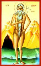 Марк Афинский (Фраческий) (рукописная икона)