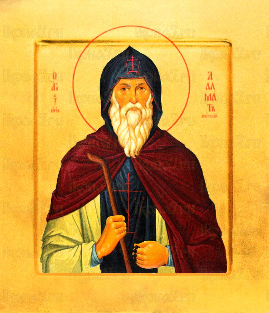 Марк Печерский (рукописная икона)