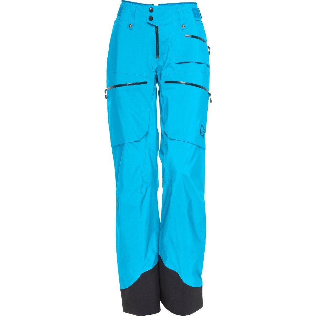 Norrøna  Lofoten Gore-Tex Pro Light Pants W Caribbean Blue
