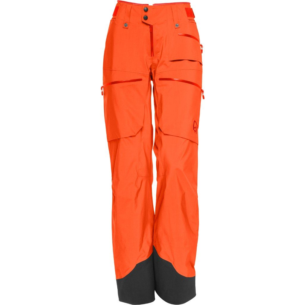 Norrøna  Lofoten Gore-Tex Pro Light Pants W Orange Alert