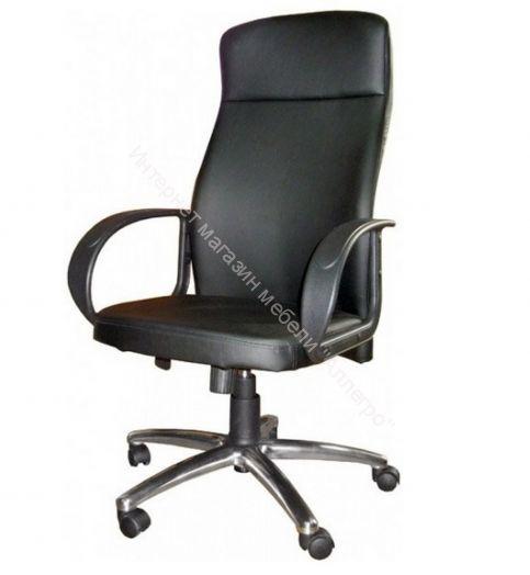 """Офисное кресло """"Атлант"""" к/зам хром пятил (без качания)"""