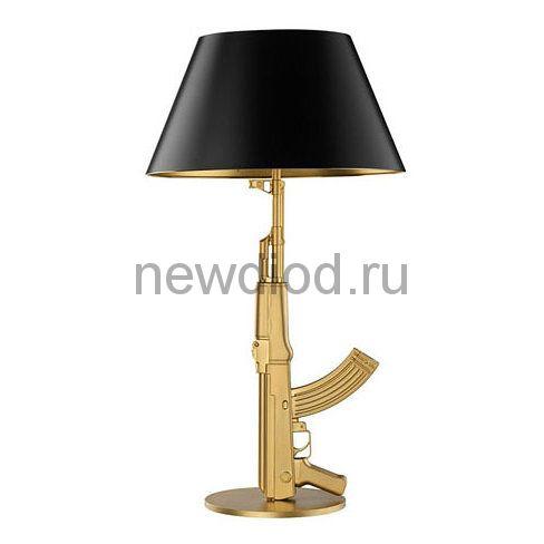 Настольная лампа Flos Guns Table by Philippe Starck Золото