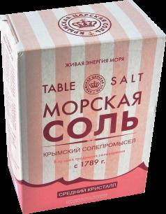 """КНК"" Крымская розовая соль 800гр (00907)"
