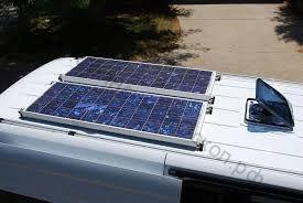 Установка солнечных панелей на автокемперы, автомобили, прицепы и т.д.