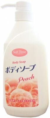 """""""Mitsuei"""" """"Soft Three""""смягчающий и увлажняющий гель для душа 550 мл"""