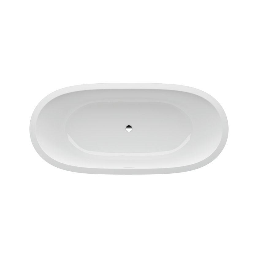 Каменная ванна с подсветкой Laufen Il Bagno Alessi One 178x82 ФОТО