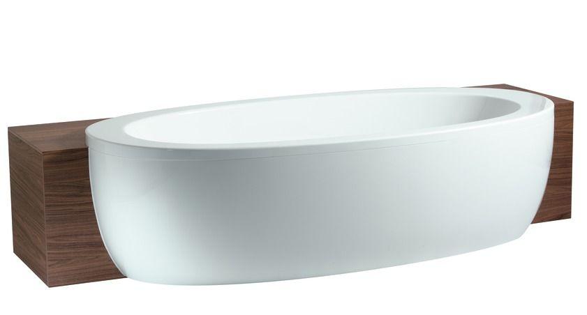 Акриловая ванна Laufen IL Bagno Alessi One полувстраиваемая  203х102 ФОТО