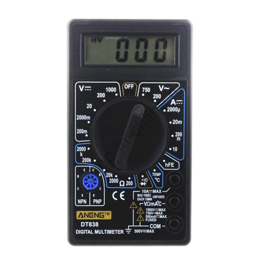 Мультиметр тестер цифровой DT83