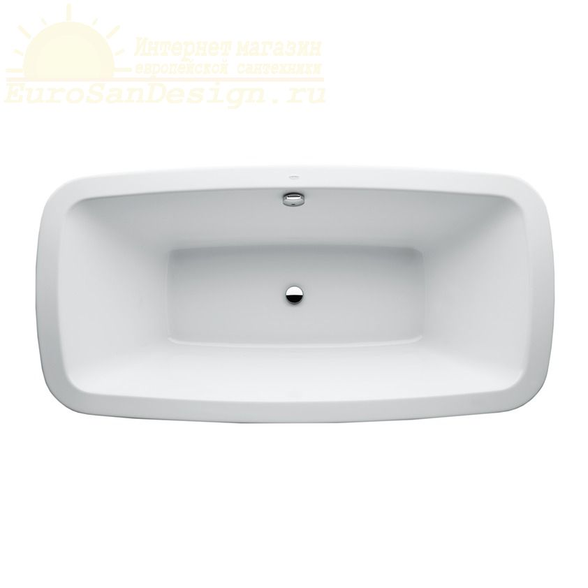 Ванна с подсветкой Laufen Palomba 180x90 2.3280.1 ФОТО